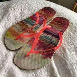Havaianas Women's Hawaiian Pink Sandals
